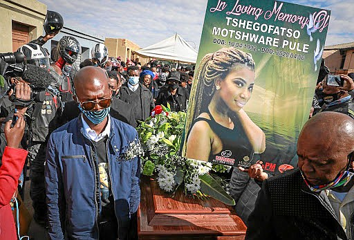 """Calling it a """"dark and shameful week,"""" South African President Cyril Ramaphosa denounced the latest surge in violence against women, ..."""