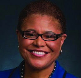 Congressional Black Caucus Chair Karen Bass (D-Calif.) joined the Black Press of America for a live interview to discuss the ...