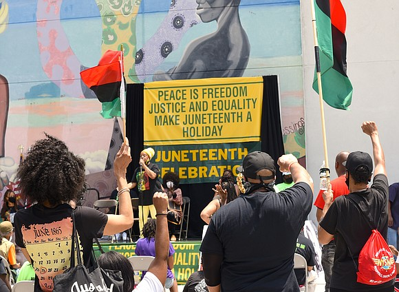 On Friday, June 19th, Harlemites held its 27th annual Juneteenth Celebration/Walk to Make Juneteenth a State Holiday.