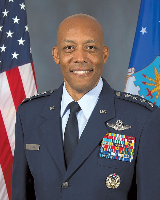 The U.S. Senate has confirmed Gen. Charles Brown to serve as the Air Force chief of..