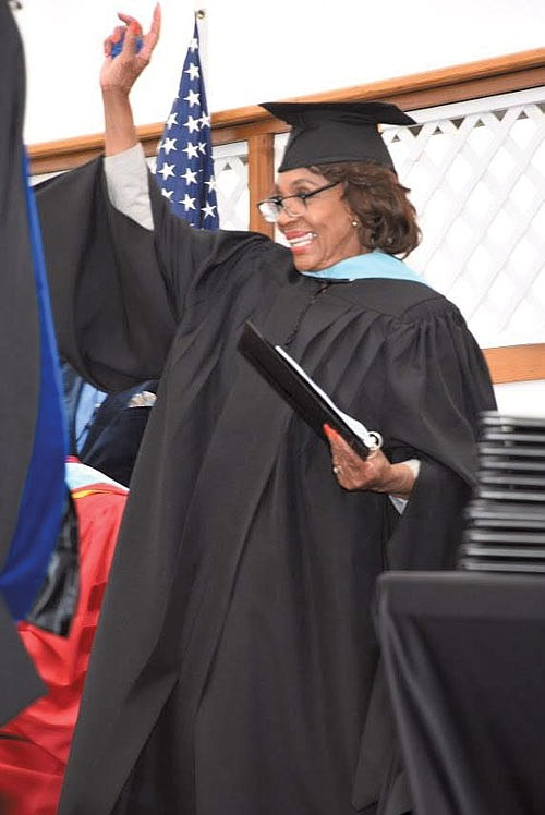 Rep. Maxine Waters (CA-43) served as the virtual keynote speaker for more than..