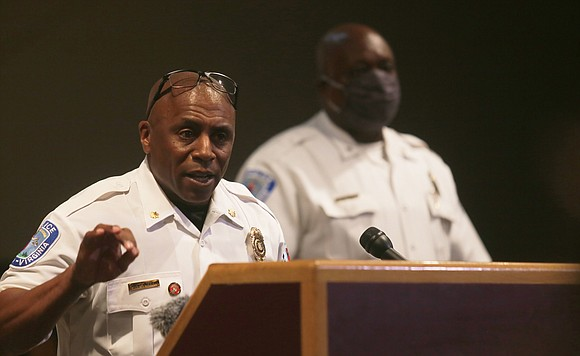 "Interim Richmond Police Chief William V. ""Jody"" Blackwell is supposed to be the right person to focus on ""necessary public ..."