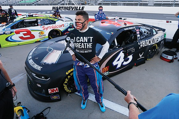 NASCAR went to Talladega Superspeedway last weekend on heightened alert after Bubba Wallace, its only Black driver, took on an ...