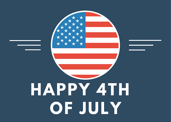 In observance of Independence Day, METRO will operate the following schedule on Friday, July 3, 2020.
