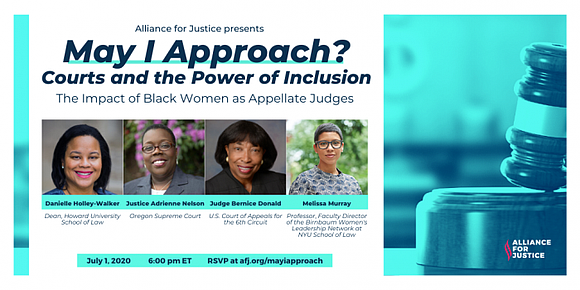 This week, Alliance for Justice's Building the Bench Initiative is launching a new series called May I Approach? Courts and ...