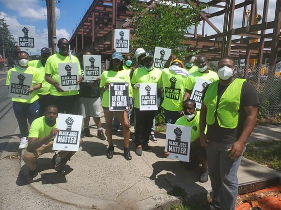 A construction company denied Hempstead's Black residents jobs.