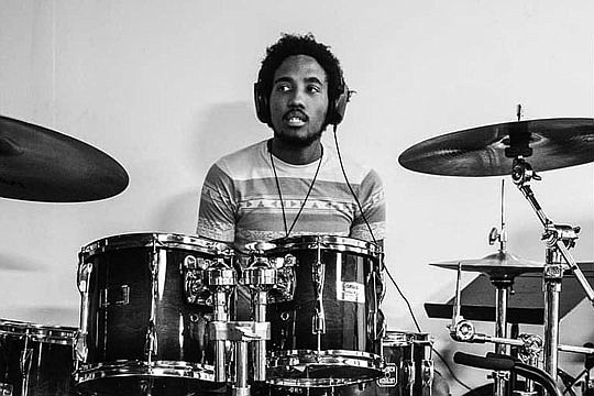 Victor McElhaney, a jazz student at the USC Thornton School of Music who was..
