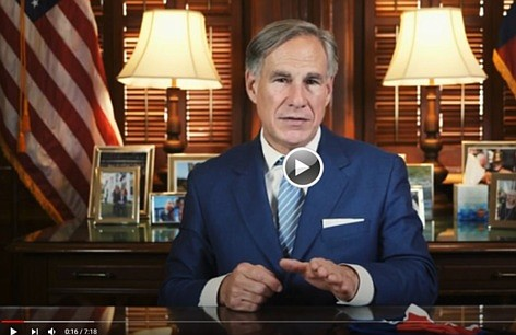 Governor Greg Abbott today issued an Executive Order requiring all Texans to wear a face covering over the nose and ...