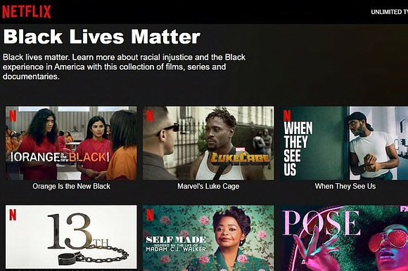 Netflix announced today it is shifting $100 million of its cash to financial institutions that serve the Black community to ...