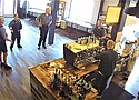 Security camera footage from a Corvallis coffee shop obtained by the Oregonian shows a group of Oregon State Police officers refusing to wear face masks under the governor's order for preventing the spread of the coronavirus in public places. According to the newspaper, the shop's manager said one of them went off on a profane rant against Democratic Oregon Gov. Kate Brown when confronted.