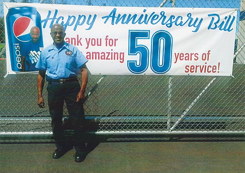 Bill Jackson, a lifetime member of Portland's African American community, is being honored for 50 years of service with PepsiCo.