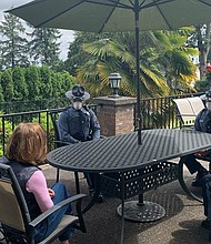 Gov. Kate Brown sat down with masked Oregon State troopers  Friday who just two days earlier went into a Corvallis coffee shop without face coverings despite her statewide order to wear masks to prevent spreading the coronavirus. After Friday's meeting, Brown said the troopers pledged to do better and she didn't want to judge or fire anybody over one mistake.