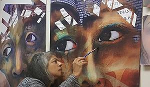 Artist Robin Holder
