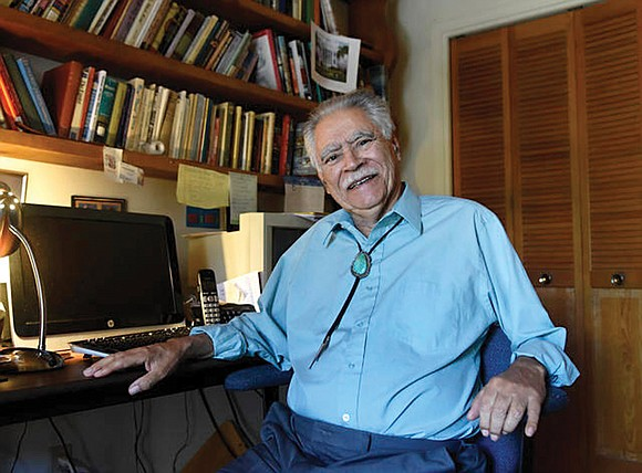 "Rudolfo Anaya, a writer who helped launch the 1970s Chicano Literature Movement with his novel, ""Bless Me, Ultima,"" a book ..."
