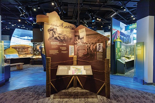 After nearly four months closed, the Oregon Historical Society reopens its downtown museum to the public under new health and ...
