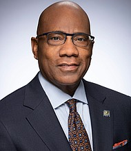 Morgan State University President Dr. David K. Wilson. A personal contribution and gifts from alumni and friends has grown the President's'$5 Scholarship Fund,' to $1 Million