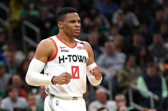 Houston Rockets guard Russell Westbrook announced on Monday he has tested positive for Covid-19.