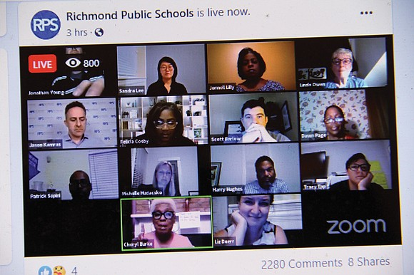 Richmond Public Schools students will continue learning online this fall when the 2020-21 academic year starts Sept. 8.