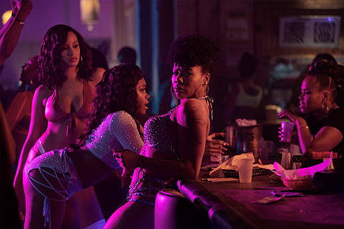 "Starz's new series ""P-Valley,"" executive produced by playwright and showrunner Katori Hall, is adapted from her play ""Pussy Valley"" and ..."