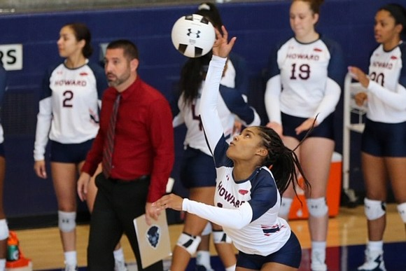 Kayla Diaz had a pretty great freshman season as a setter on Howard University's volleyball team. The Bisons won the ...