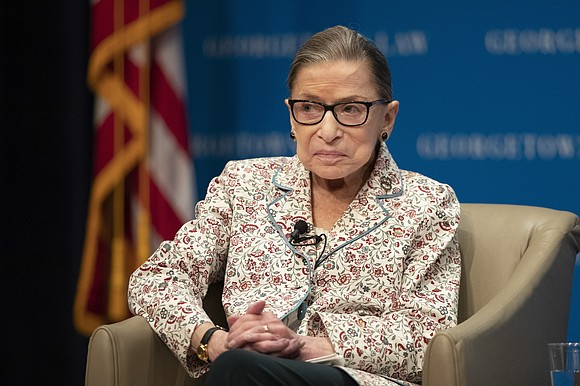 Justice Ruth Bader Ginsburg has been discharged from the hospital after being treated for a possible infection in her latest ...