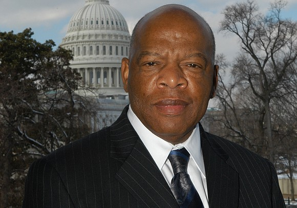 The late U.S. Rep. John Lewis crossed the Edmund Pettus Bridge in Selma, Alabama, for the final time Sunday as ...