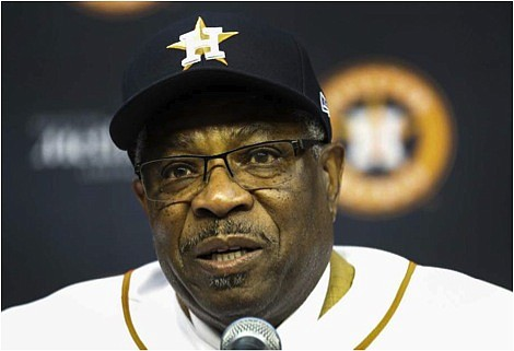 Astros Manager Dusty Baker