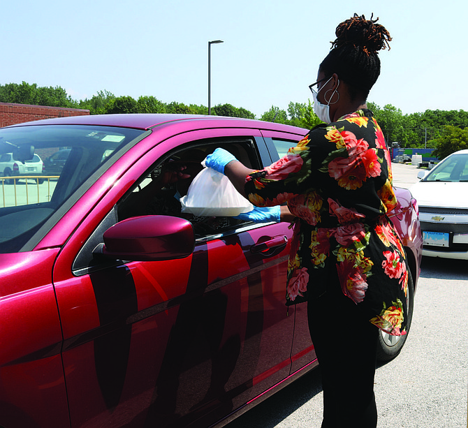 Seniors, aged 60 or older, who reside in any one of the 17 municipalities in Thornton Township are entitled to one luncheon per week at either of the two drive-thru locations in the township. Photo courtesy of Nate Fields