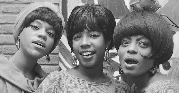 The Supremes (l-r Florence Ballard, Mary Wilson and Diana Ross)