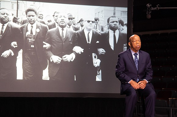 Congressman John Lewis marched, was almost killed and jailed for wanting a better America. He wanted an America where all ...