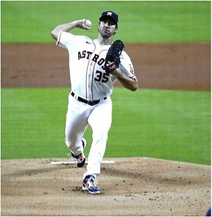 Astros No. 1 starter, Justin Verlander was placed on the 10-day IL list with a right-arm forearm strain according to ...