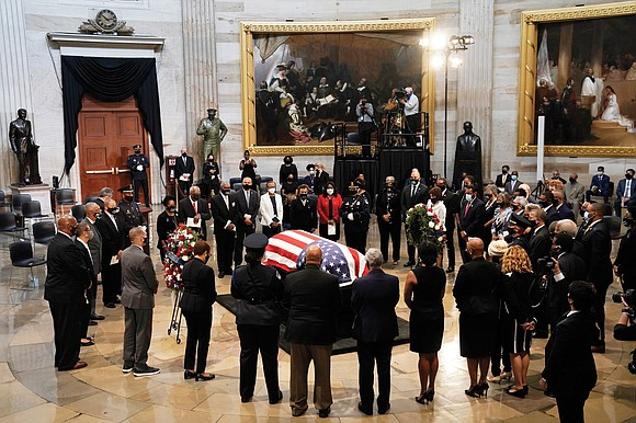 Thousands of Americans from Alabama to Washington have paid their final respects to Congressman John Lewis, an American icon and ...