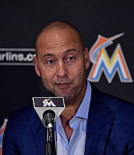 Miami Marlins CEO Derek Jeter has seen his team harshly hit by COVID-19