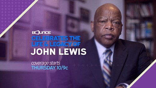 ATLANTA, July 29, 2020 /PRNewswire/ -- Bounce will broadcast live the farewell memorial service for Rep. John Lewis tomorrow, Thursday, ...