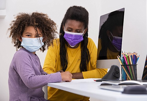 As the COVID-19 pandemic continues, it is more important than ever that we help our children understand why wear- ing ...