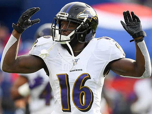 Primary return man De'Anthony Thomas became the first Ravens player to opt out of the 2020 NFL season because of the COVID-19 pandemic on Monday, July 27, 2020.