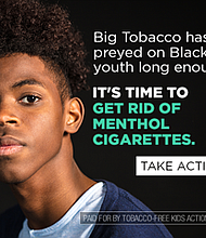 A coalition of community leaders, clergy and public health leaders want to end the sale of fl avored tobacco products. Photo courtesy of American Lung Association