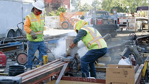 TriMet has embarked on its largest MAX improvement project to date, a month long closure of the Steel Bridge to ...