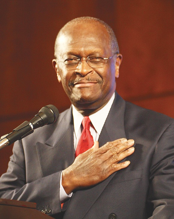 Herman Cain, a former Republican presidential candidate and former CEO of a major pizza chain who went on to become ...