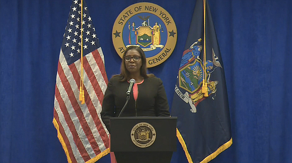 New York Attorney General Letitia James announced that the state has renewed an order to halt the collection of medical ...