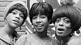 Florence Ballard, left, with Mary Wilson and Diana Ross.