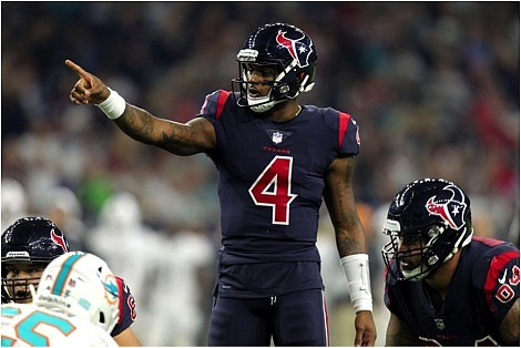 This hasn't been the typical off-season for Texans franchise quarterback Deshaun Watson. In the midst of dealing with a global ...