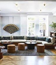 Located at 101 West Monument Street in Mount Vernon, Hotel Revival offers beautiful, cozy 'commerce-free' space that can also be utilized by the community.