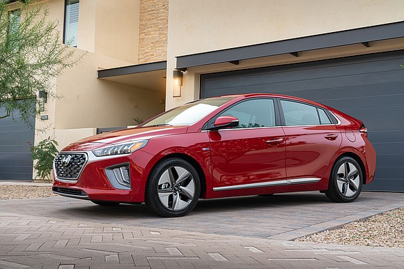 The Hyundai Ioniq is a car of the future. That's because it comes in three electrified versions: hybrid, plug-in hybrid ...