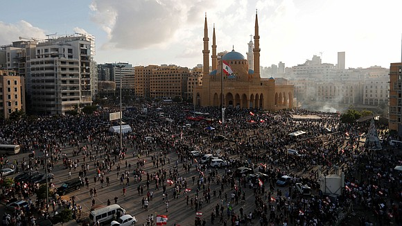 Lebanon's government is expected to step down on Monday night, less than a week after a massive explosion in Beirut ...