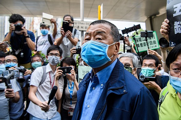 Hong Kong media tycoon Jimmy Lai, known for his support of the city's pro-democracy movement and criticism of China, has ...