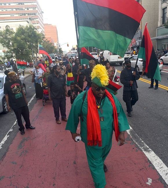"""Despite the current social-distancing climate, the 80th annual """"Marcus Garvey Black Power Parade"""" (albeit modified) is scheduled for this Monday ..."""