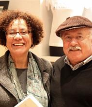 Miriam Jiménez Román with husband/co-editor Juan Flores in 2010