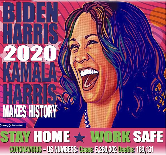 Kamala Harris walked into a packed auditorium for her freshman orientation at Howard University and experienced a revelation.