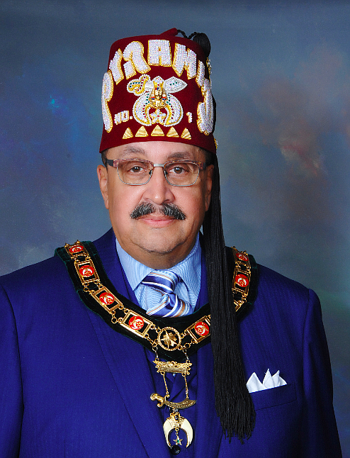 As he begins his two-year term as Imperial Potentate of the Ancient Egyptian Arabic Order Nobles Mystic Shrine (Prince Hall ...